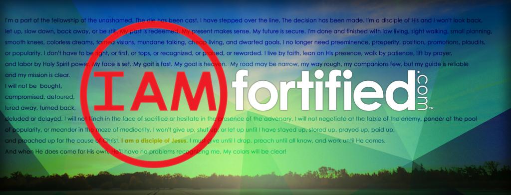FortifiedBanner_iamadisciple